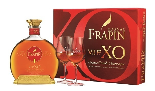 Coffret Frapin VIP XO - Carafe + 2 verres // DR
