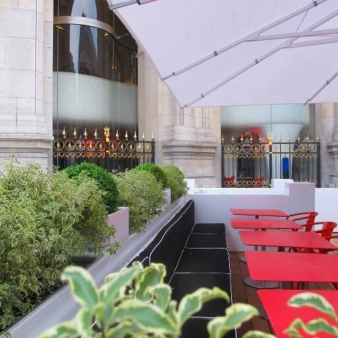 Nouvelle Terrasse du Restaurant L'Opéra // DR