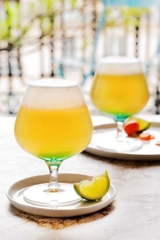 """Recette Cocktail """"Montagne Russe"""" // © Tendances bière"""