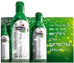 Heineken aluminium, la bouteille de la nuit enfin au grand jour !