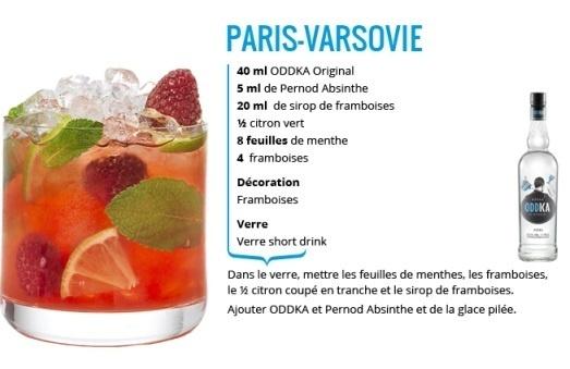 Un cocktail recette