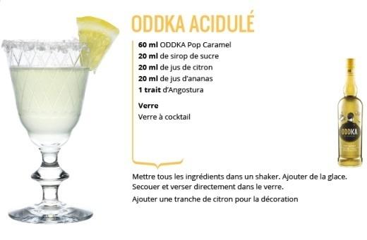 "Recette Cocktail ""ODDKA Acidulé"" // © ODDKA"