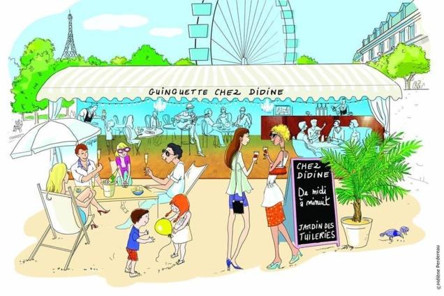 Chez Didine // © Hélène Perdereau