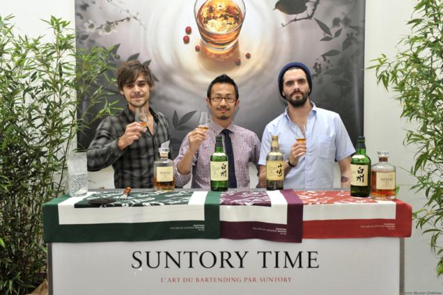 Arthur Combe, Simon Chollet et Tatsuya Minagawa // DR