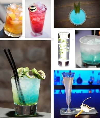 Cocktails et carte éphémère au Blue // DR