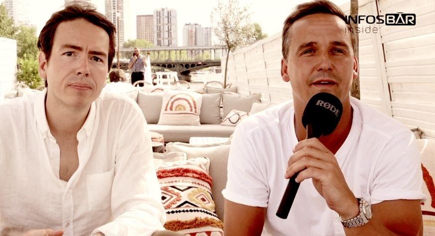 Hugo Lemoine et Benjamin Roussel, associés de la structure Babylon Group en charge de Corail Cocktails Club.