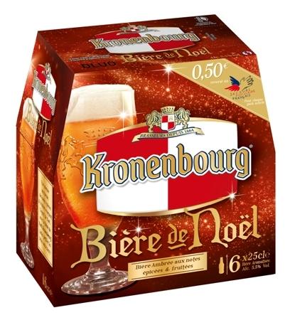 Pack Kronenbourg Bière de Noël 2013 // DR