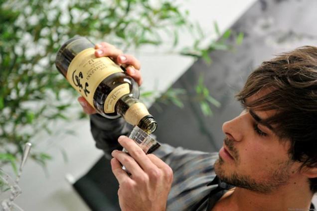 Simon Chollet pour le Suntory Time Challenge 2013 // © Facebook Suntory Whisky France
