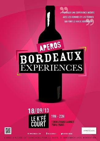 Apéros Bordeaux Expériences // DR