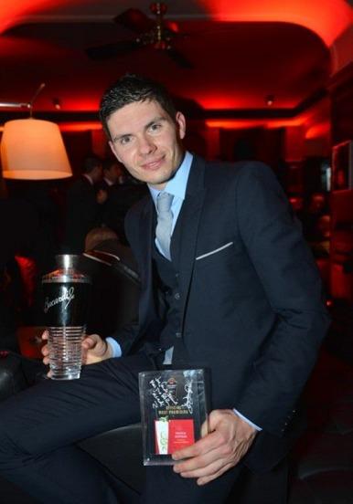 Guillaume Guerbois, lauréat lors de la Finale France de la Bacardi Legacy Cocktail Competition 2013