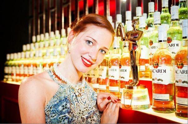 Elizaveta Evdokimovar grande gagnante lors de la finale internationale de la Bacardi Lecagy Cocktail Competition 2013