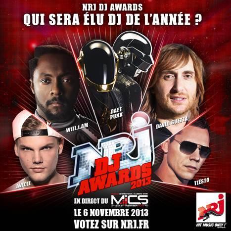 NRD DJ Awards 2013