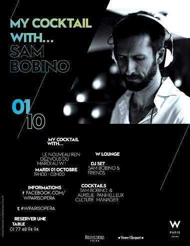 My Cocktail With... Sam Bobino // DR