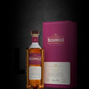 Nouveau packaging pour l'iconique whiskey Irlandais Bushmills