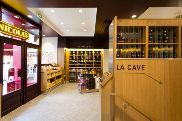 nicolas madeleine paris magasin cave et bar vins. Black Bedroom Furniture Sets. Home Design Ideas