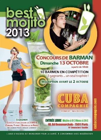 Best Mojito in Paris 2013 // DR