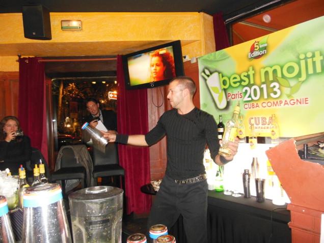 Best Mojito in Paris 2013 au Cuba Compagnie // DR