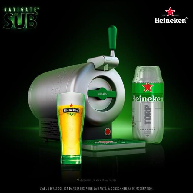 The Sub® by Heineken // DR