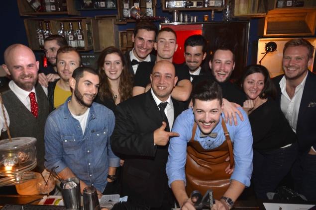 Finale France de la International Bartender Competition 2013 by Beefeater 24 : les candidats // DR