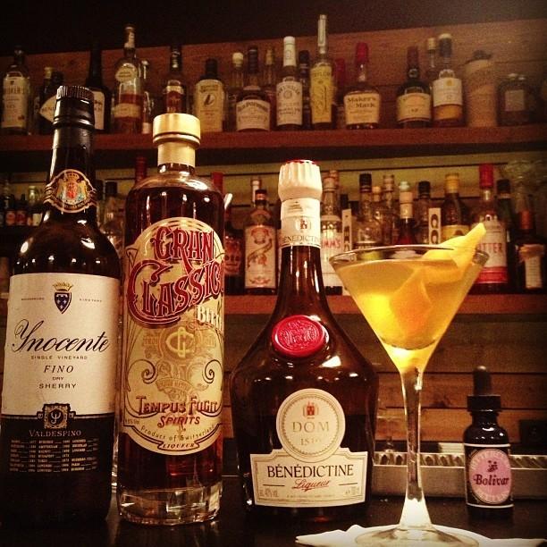 Cocktail @Castor Club // © Page Facebook Officielle Castor Club