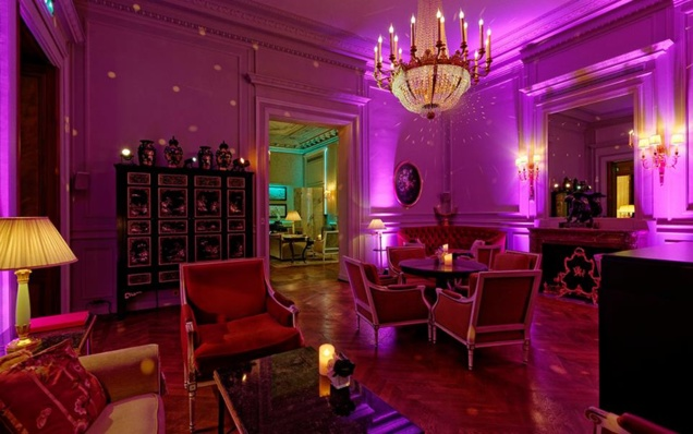 Shangri Lounge // © Shangri La Hotel Paris