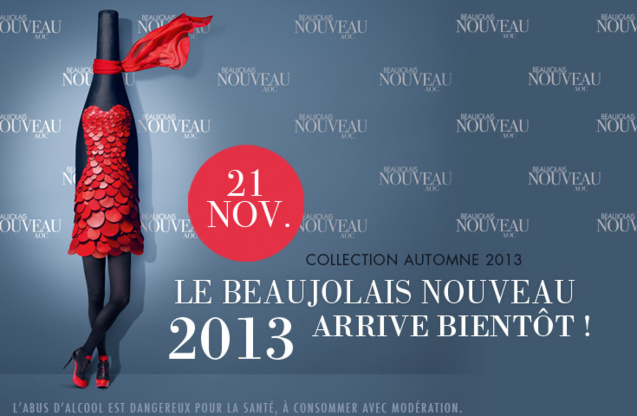 Le Beaujolais Nouveau 2013 arrive
