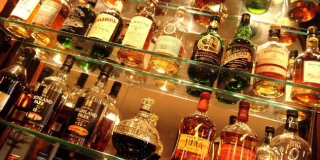 Le goût du whisky varie selon l'environnement où l'on se trouve