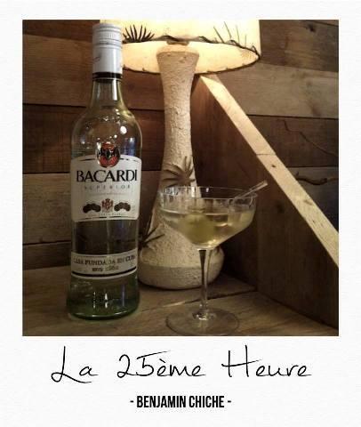 La 25ème Heure by Benjamin Chiche // © Page Facebook Bacardi Martini