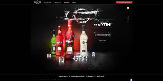 Martini Page d'Accueil // DR