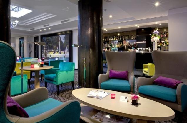 """Bar """"V"""" de la Villa Maillot // DR"""