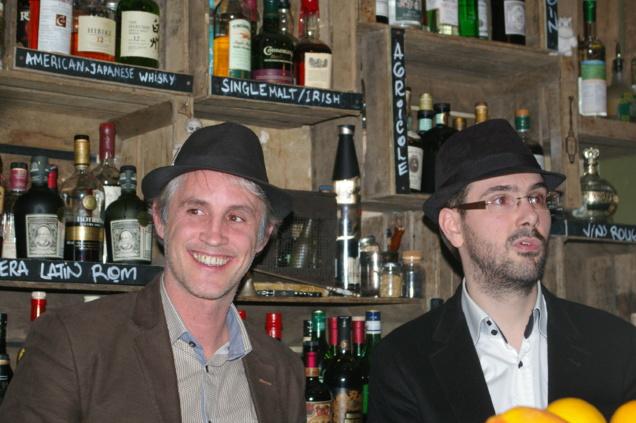 Cyrille Hugon et Alexandre Vingtier, co-fondateurs de Rumporter // © Caroline Jolivet