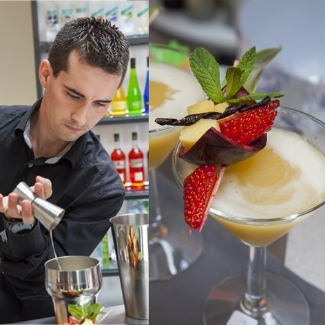 Recette des cocktails de Damien Monestier : lauréat de la Giffard West Cup 2013 // © Page Facebook Giffard