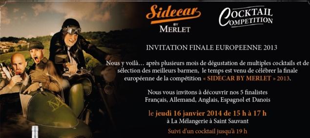 """Finale Européenne 2013 """"Sidecar by Merlet"""""""
