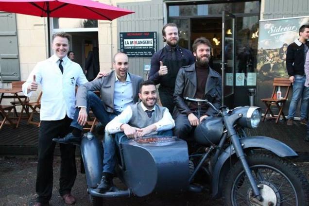 "Les 5 finalistes de la ""Sidecar By Merlet"" 2013 // © Page Facebook Merlet Spirits"