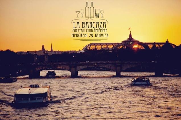 La Barcaza du 29 janvier 2014 // DR