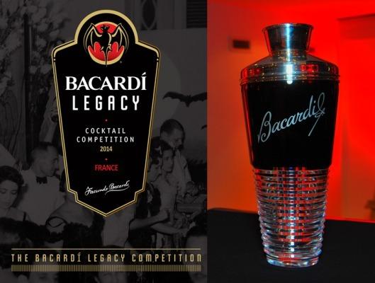 Bacardi Legacy Cocktail Competition 2014 : Finale France-Italie à Paris