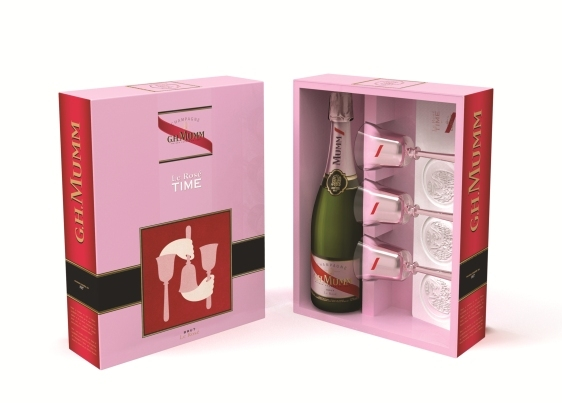 Gift Box by G.H.Mumm // DR