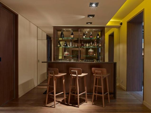 Bar de l'Hôtel de Nell // © Didier Boy de la Tour