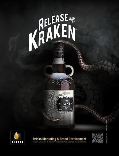 Kraken Black Spiced Rum // DR