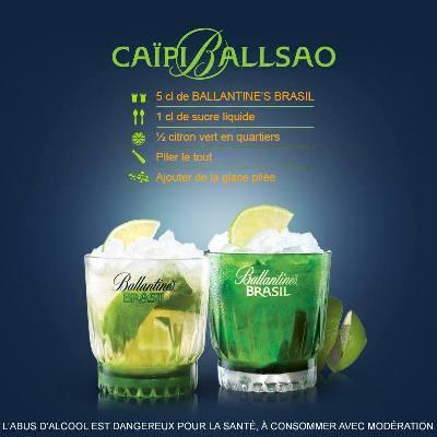 CaïpiBallsao by Ballantine's Brasil // DR