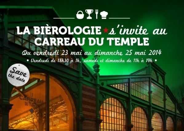 La Biérologie s'invite au Carreau du Temple // DR