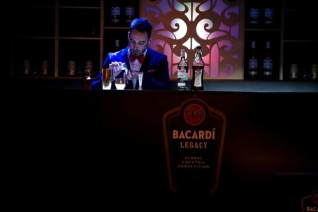© Bacardi Legacy Cocktail Competition 2014