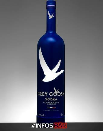 "Nouvelle bouteille ""Night Vision by Grey Goose"""