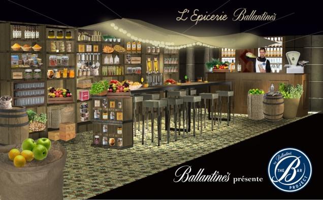 L'Epicerie Ballantine's // DR