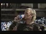Pepsi foot