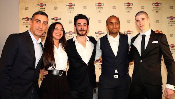 Les finalistes France du Martini Contest 2014 // DR