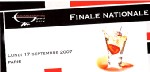 Finale nationale du Bacardi-Martini Grand Prix le 17 septembre au Club Med World