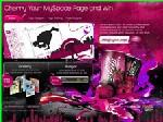 Cherry Coke et Myspace s'associent pour le marketing viral