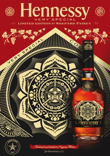 Hennessy VS Limited Edition by Shepard Fairey // DR