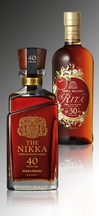 Rita Apple Brandy et The Nikka 40 ans // DR